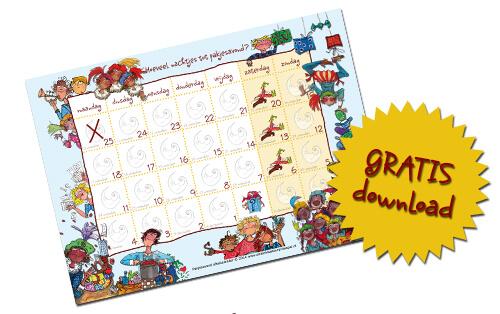 Sinterklaas aftelkalender 2015