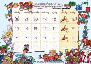 Sinterklaas Surprisespel - aftellen naar dinsdag 5 december 2017