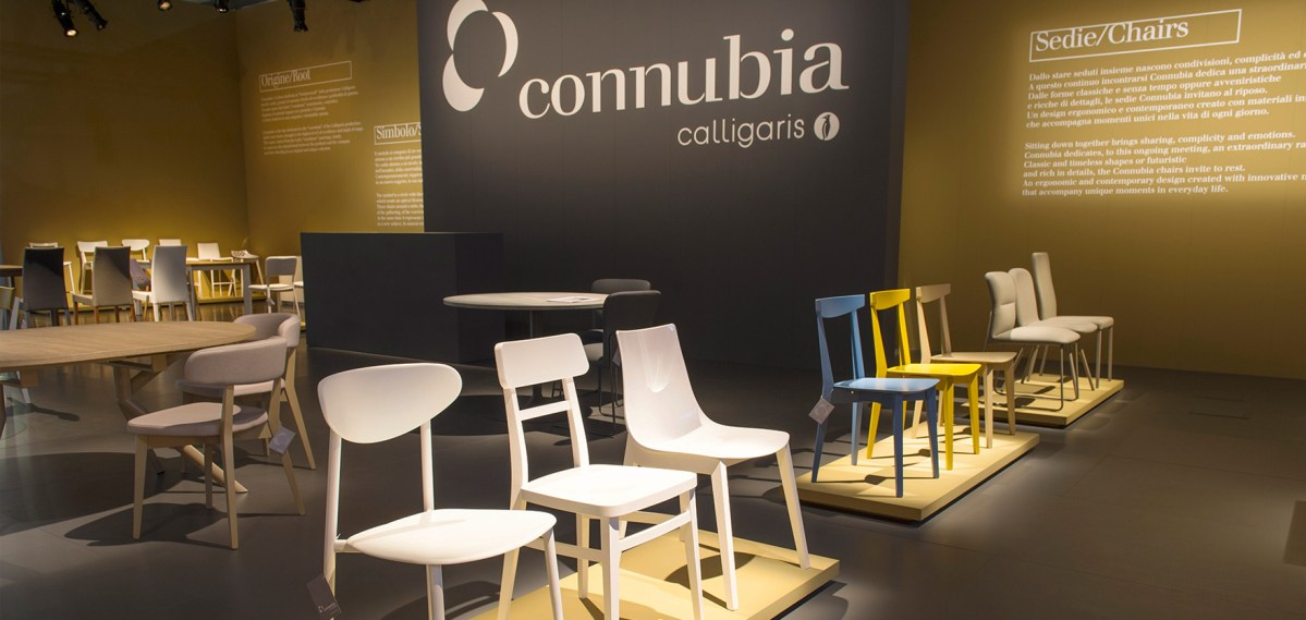 Connubia Allestimento Sintesi/HUB agenzia marketing Trieste