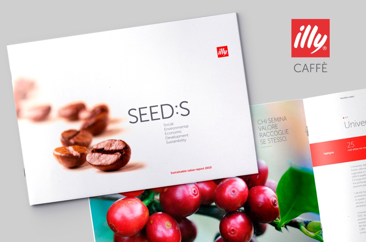 illy flyer Sintesi/HUB agenzia marketing Trieste
