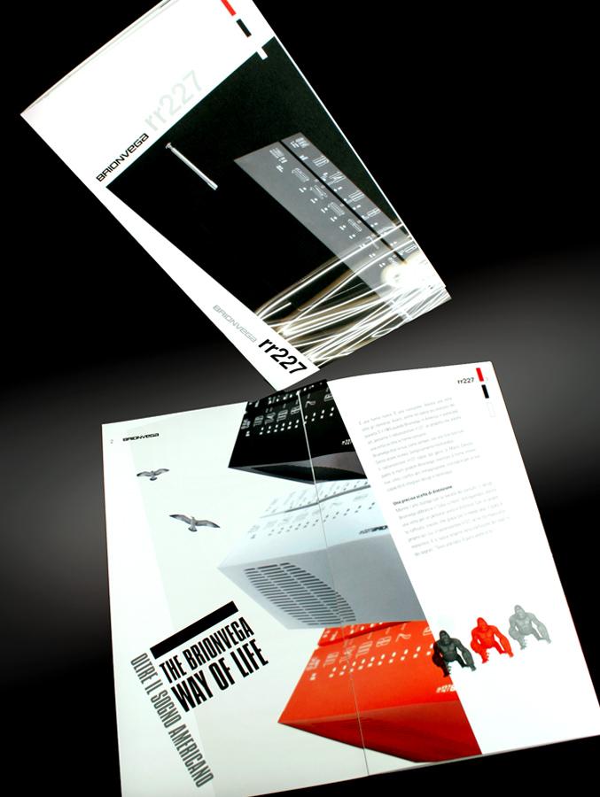 Brionvega Locandina Sintesi/hub agenzia marketing Trieste