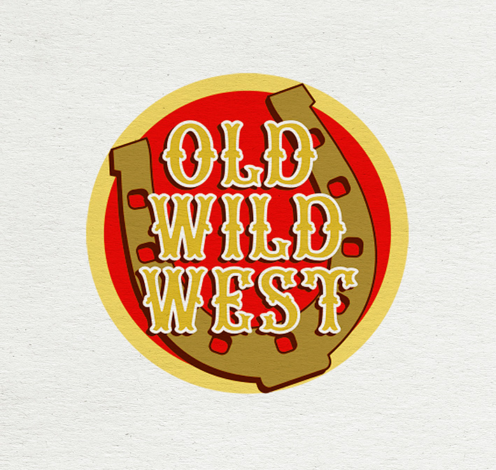 LOGO 1 OLD WILD WEST Sintesi/HUB agenzia marketing Trieste