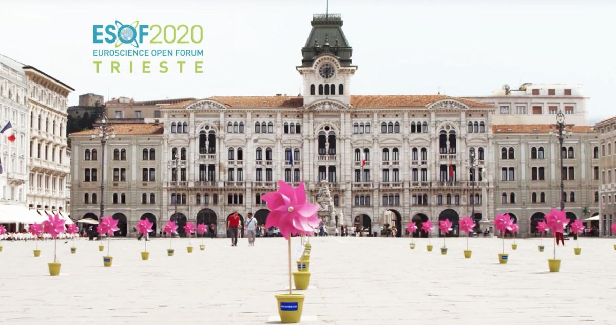 Esof2020 Trieste locandina Sintesi/hub agenzia pubblicità Trieste