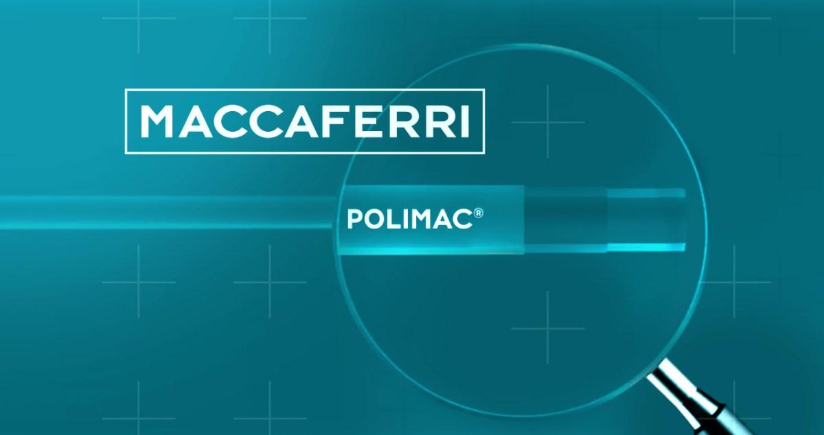 Maccaferri Polimac flyer Sintesi/hub agenzia pubblicità Trieste