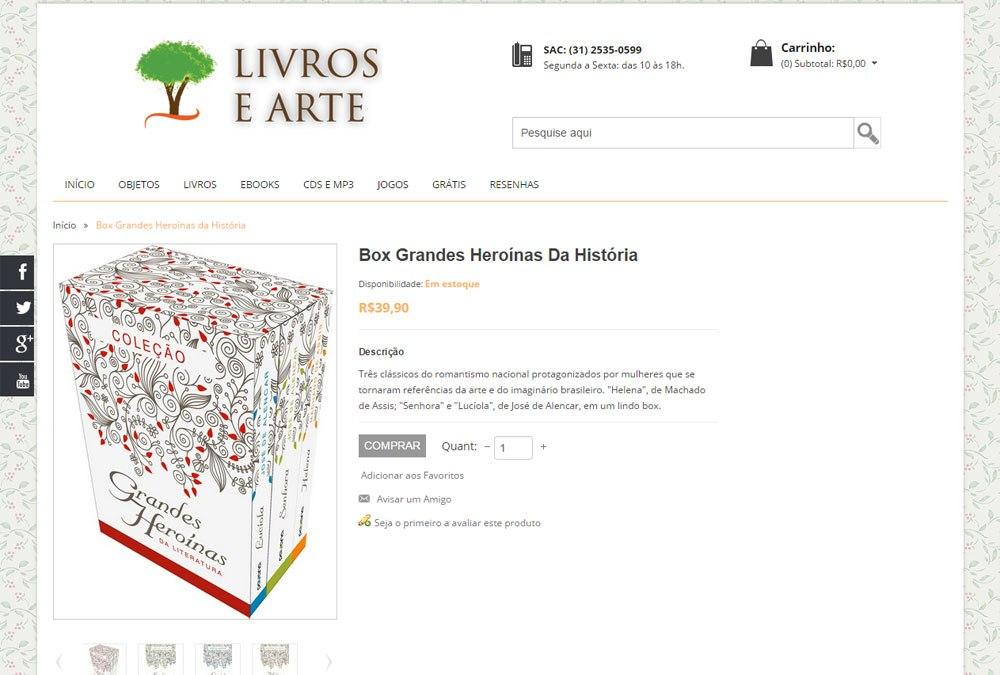 Livros e Arte