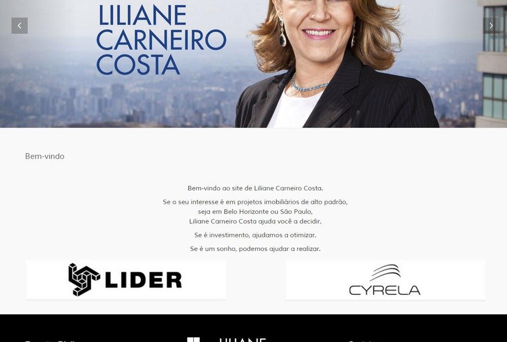 Novo website de Liliane Carneiro Costa
