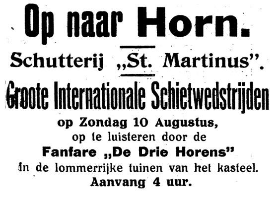 foto 12 schuttersfeest 1930
