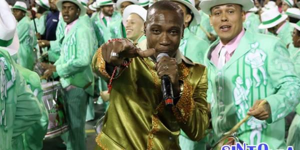 Tiganá é o novo intérprete da Camisa Verde e Branco.