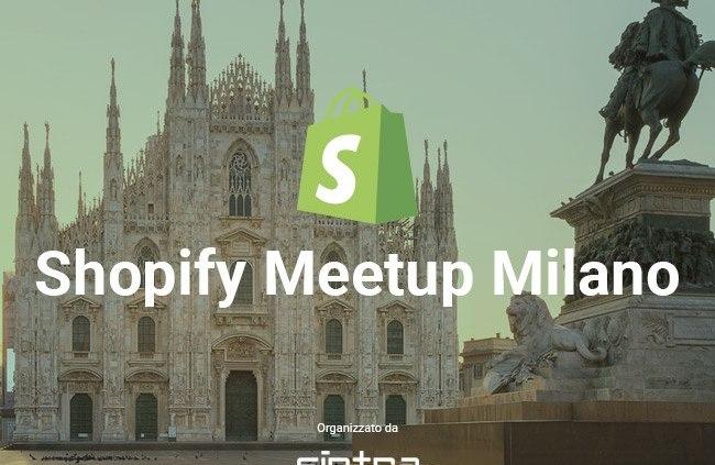 Primo meetup shopify italia