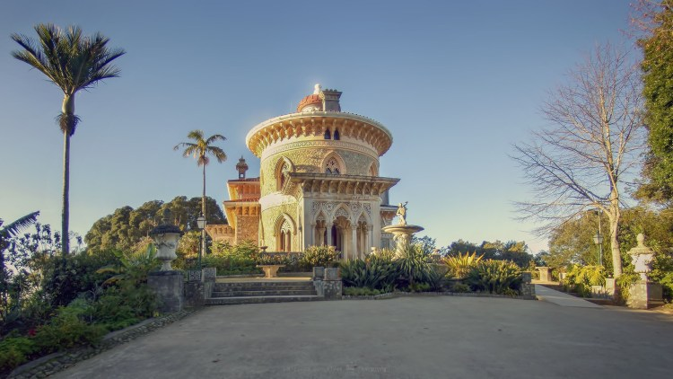 Monserrate Palace Sintra - South View