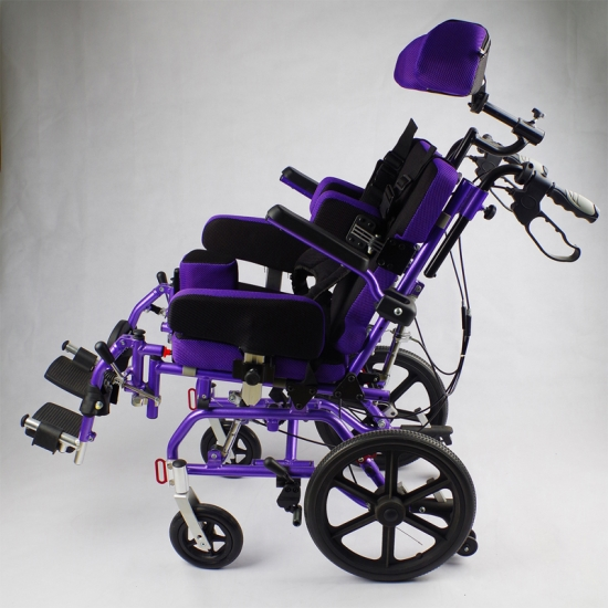 Buy Aluminum Tilt In Space CP Rehab Pediatric Wheelchair