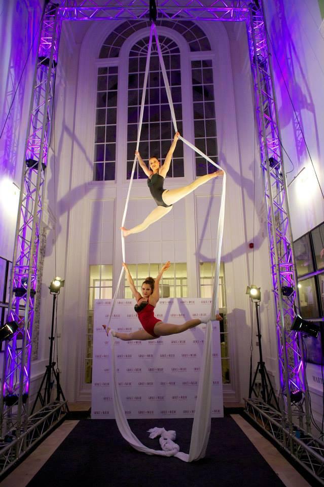Siobhan Aerial Silks Duo