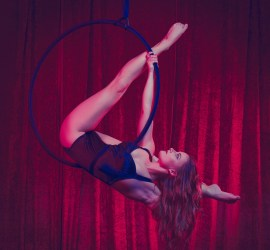 Siobhan Johnstone aerial hoop artist