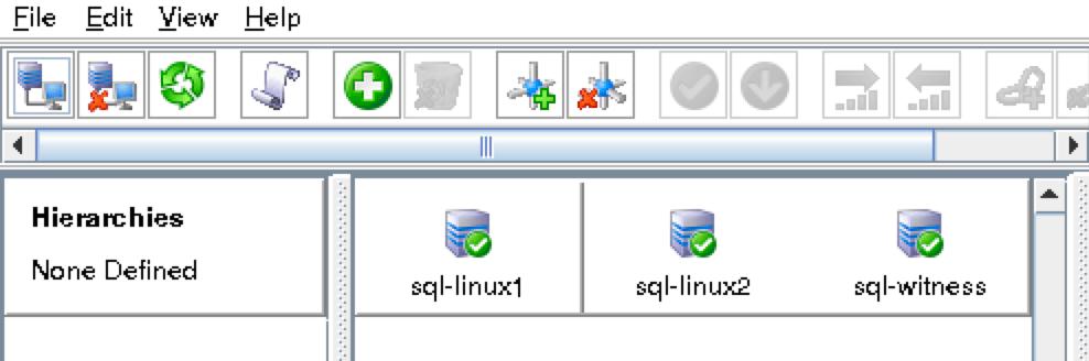 SQL貴節點綠色