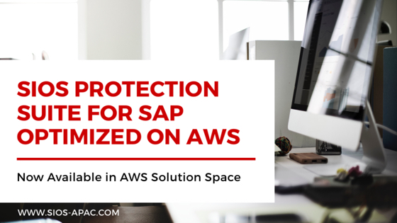 適用於SAP的SAP優化SIOS Protection Suite現已在AWS解決方案空間中提供