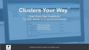 Webinar: High Availability SQL Server on Linux