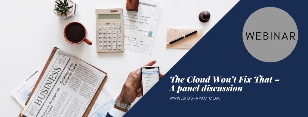 The Cloud Wont Fix That – A panel discussion
