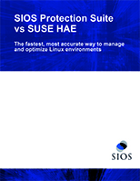 White Paper: SIOS Protection Suite vs SUSE HAE