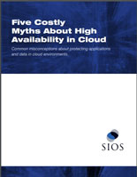 White Paper: Five Costly Myths About High Availability in Cloud