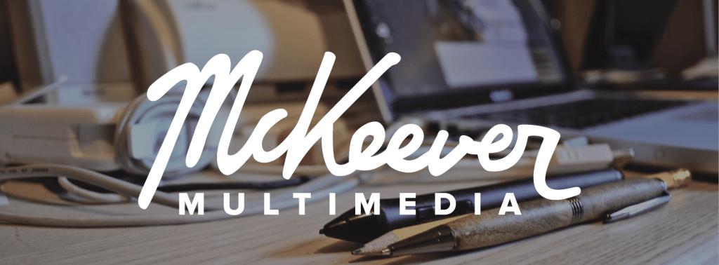 mckeever multimedia logo and branding change