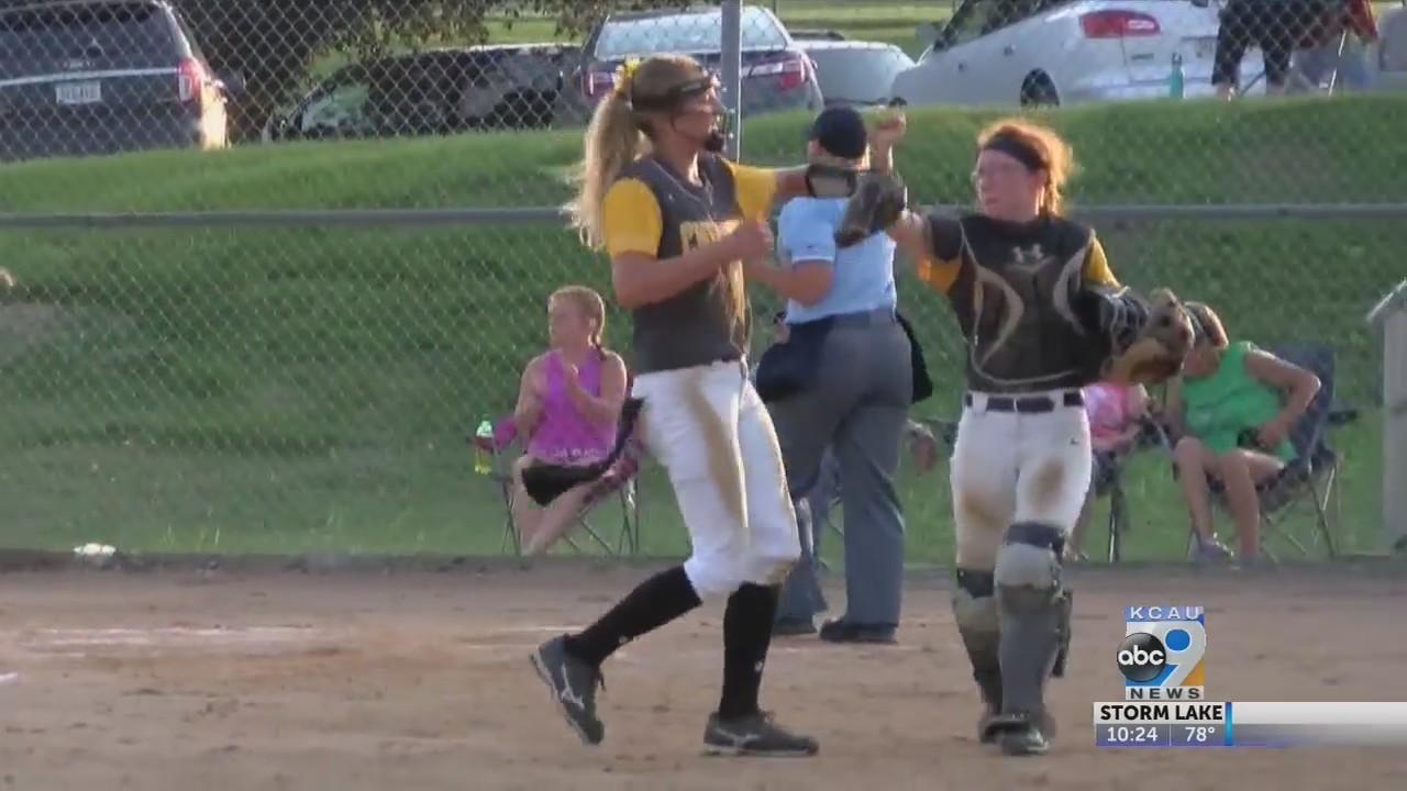 Regional softball action (7/3)