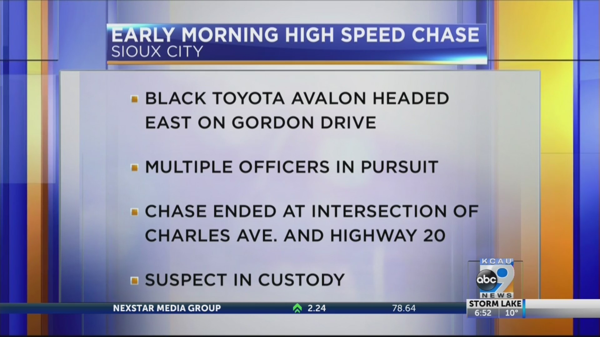 high speed chase #2