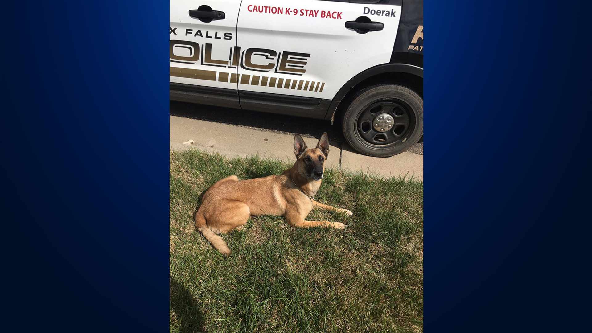 Suspect arrested in Sioux Falls after stealing Sgt  Bluff