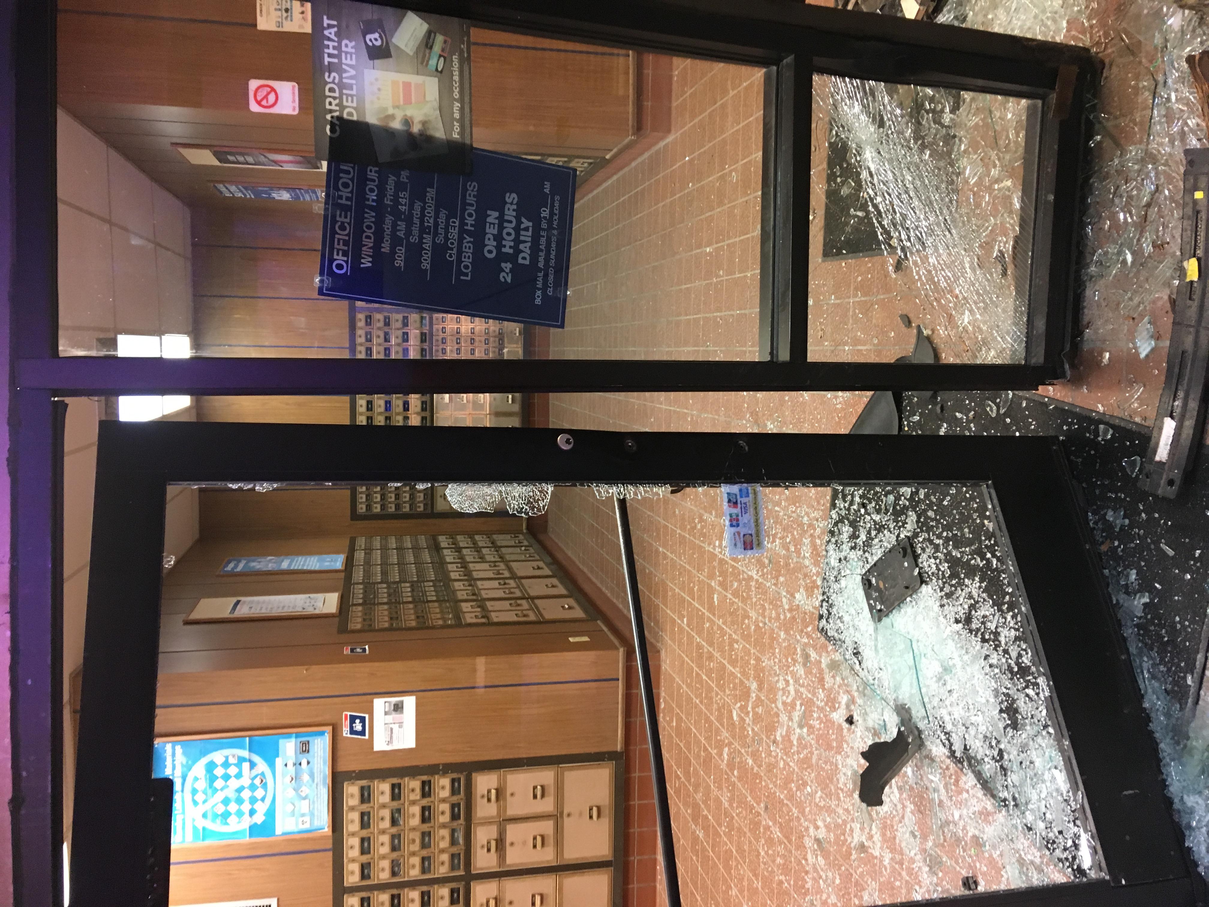 Storm lake post office crash