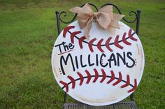 Wooden Baseball Plaques
