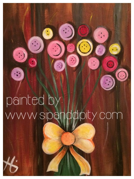 Mother's Day Special- Button Tree