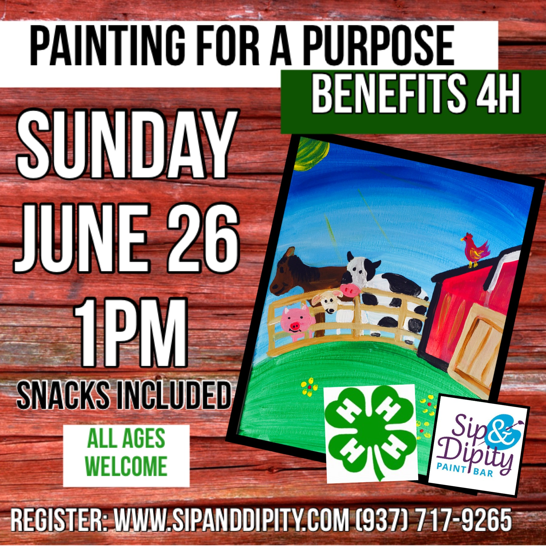 4H Fundraiser Open to the Public!