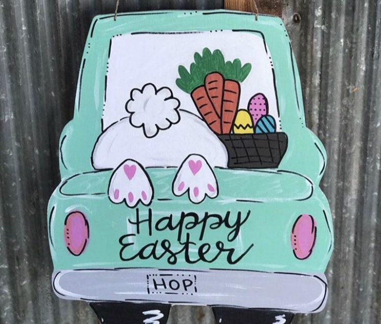 Bunny Truck Signs