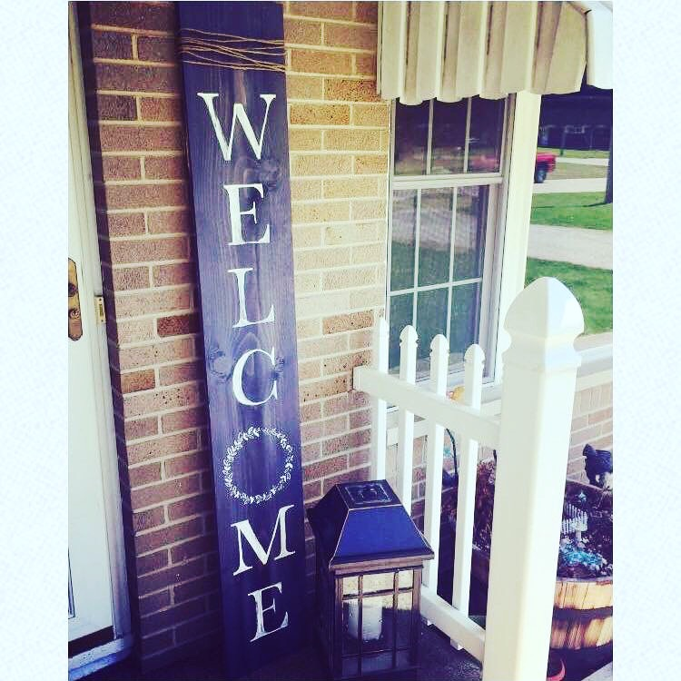 6ft Welcome Boards- Customize your color