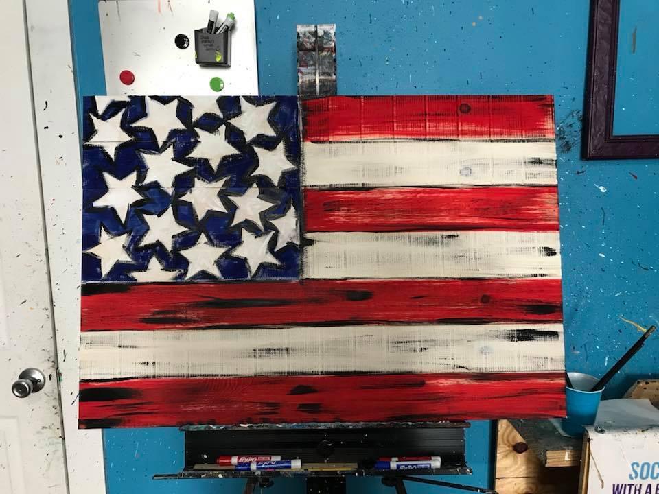 Flag Pallet