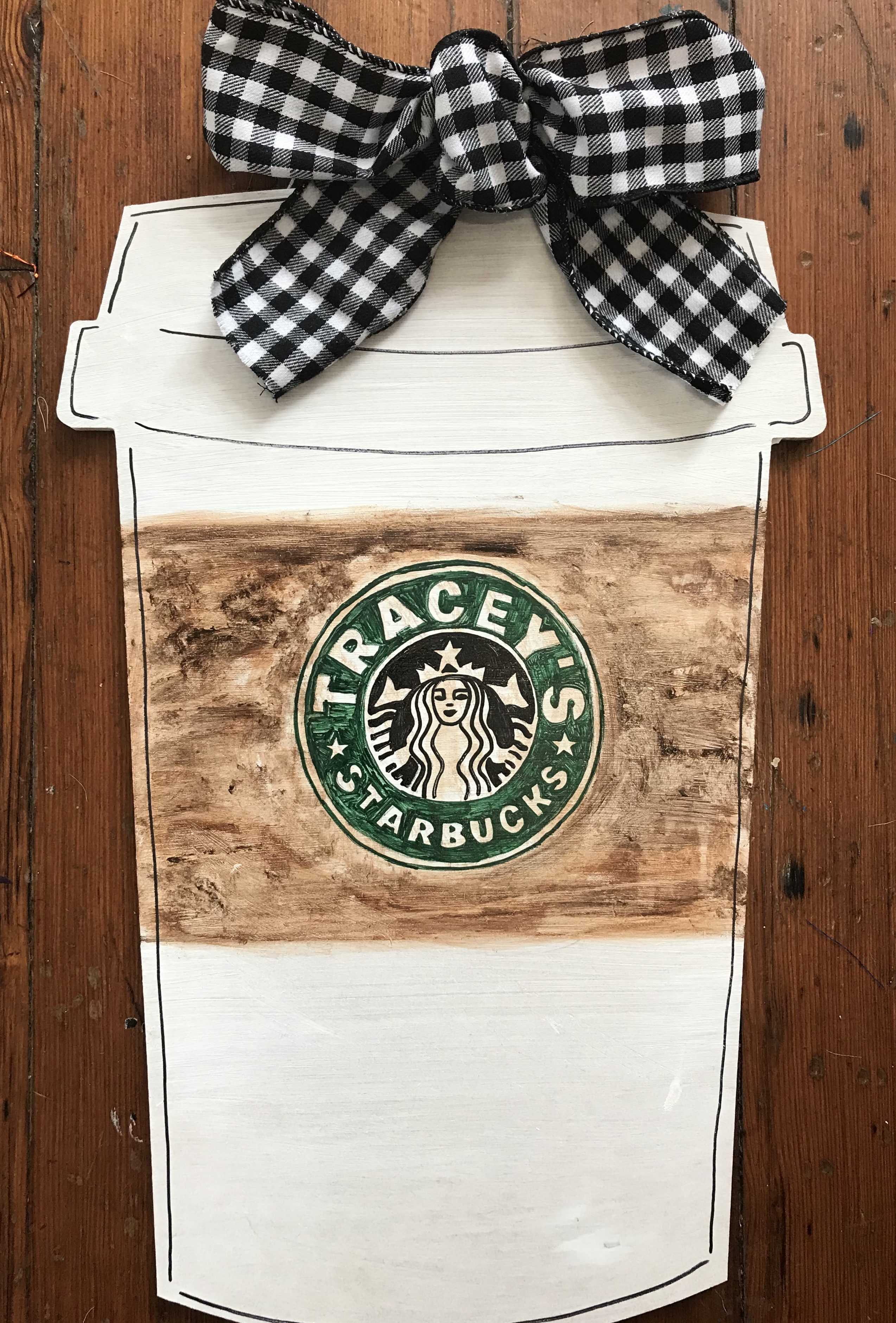 Starbucks Door Hanger Sign Workshop
