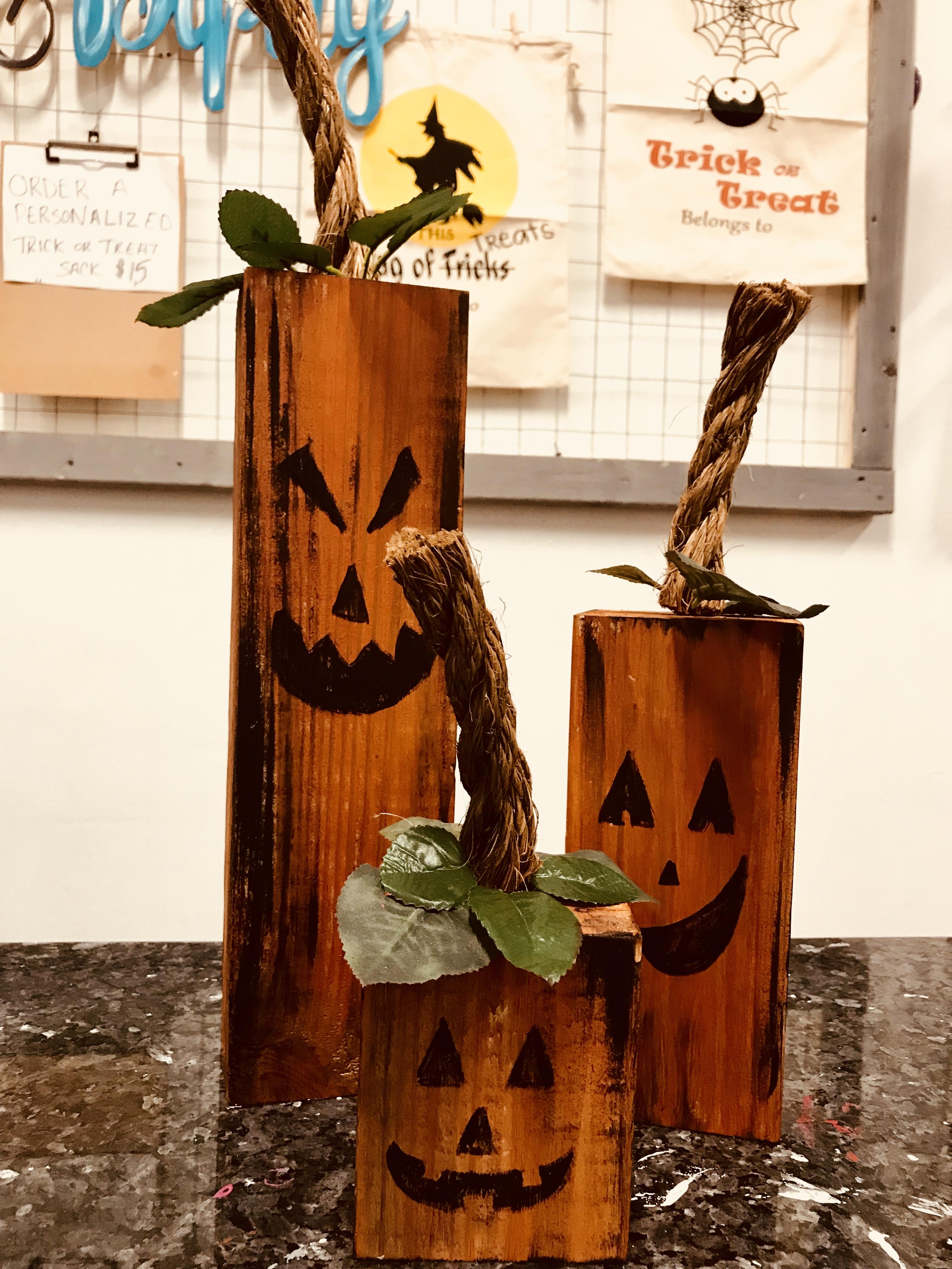 Tabletop Pumpkins