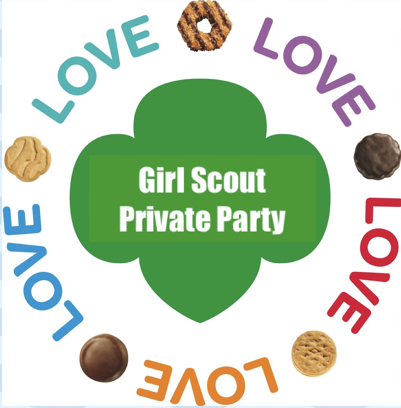 Girl Scout PRIVATE PARTY