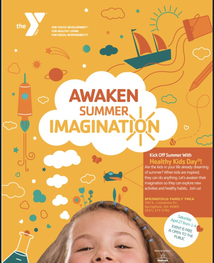 We're proud to sponsor IMAGINATION DAY at the YMCA!!!