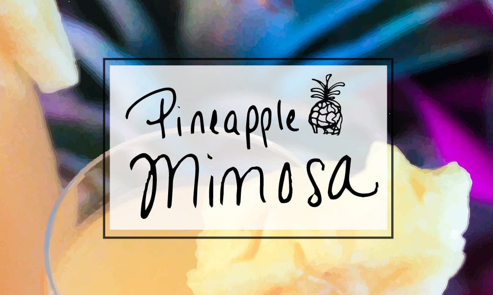 Brunch cocktail: Pineapple mimosa