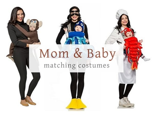 Mom and baby matching Halloween costume ideas