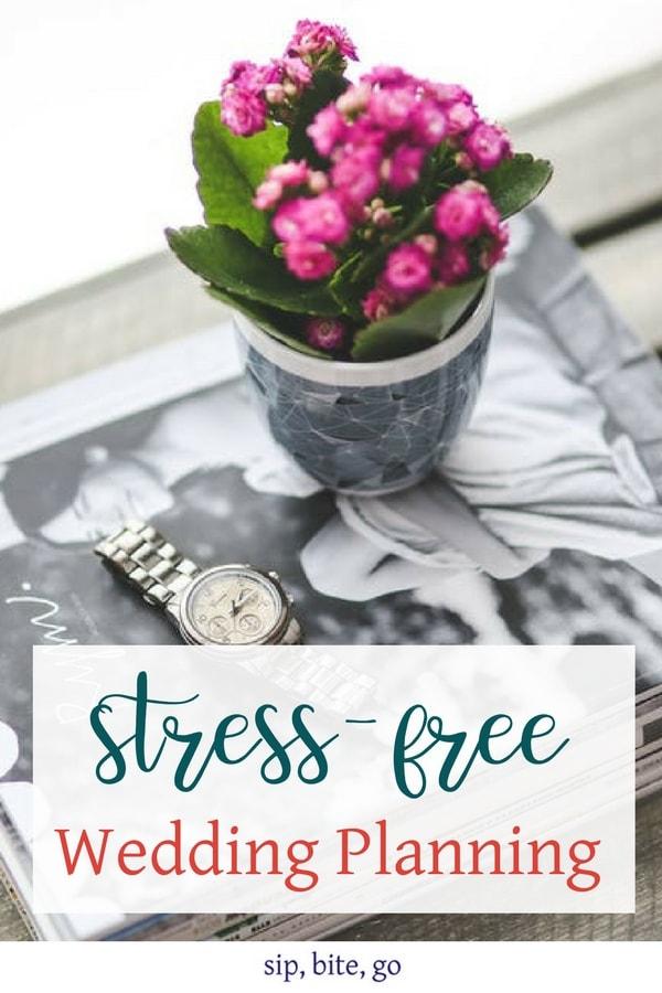 stress free wedding planning DIY advice bridal magazines