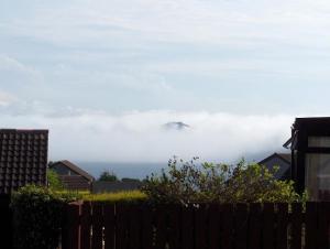 Forth Rail Bridge hidden by Fog
