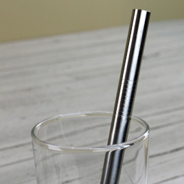 Bubble Tea Stainless Steel Straw