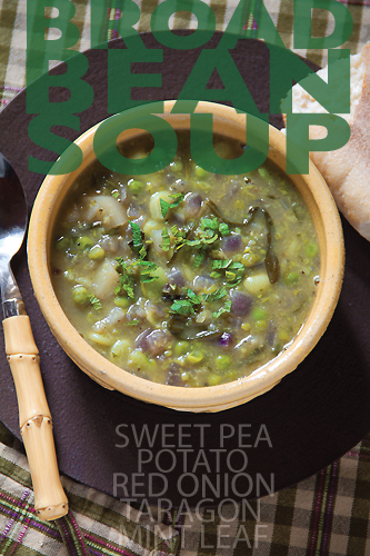 Fresh Broad Bean Soup from Sippity Sup