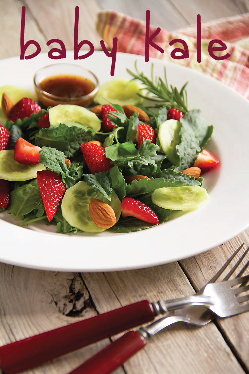 Kale Strawberry Salad
