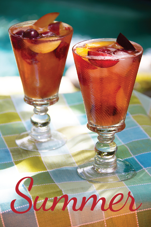 Summer Stone-Fruit Sangria