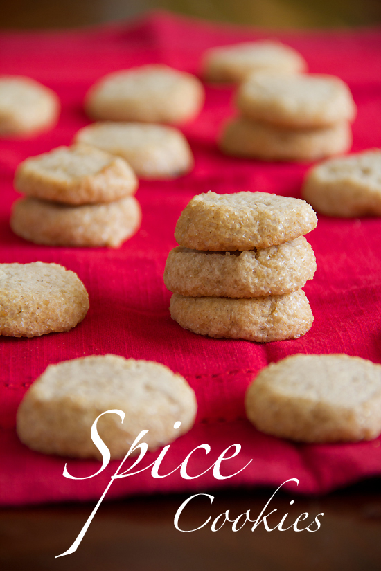 Ginger Spice Refrigerator Cookies