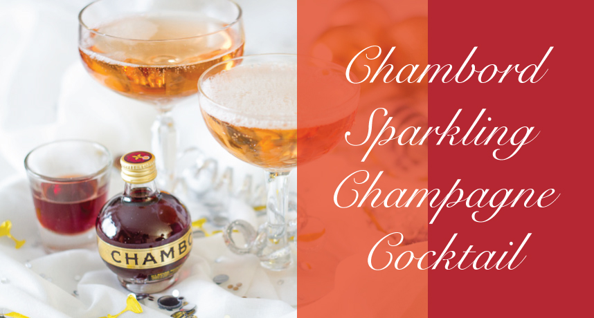 Chambord Champagne Cocktail