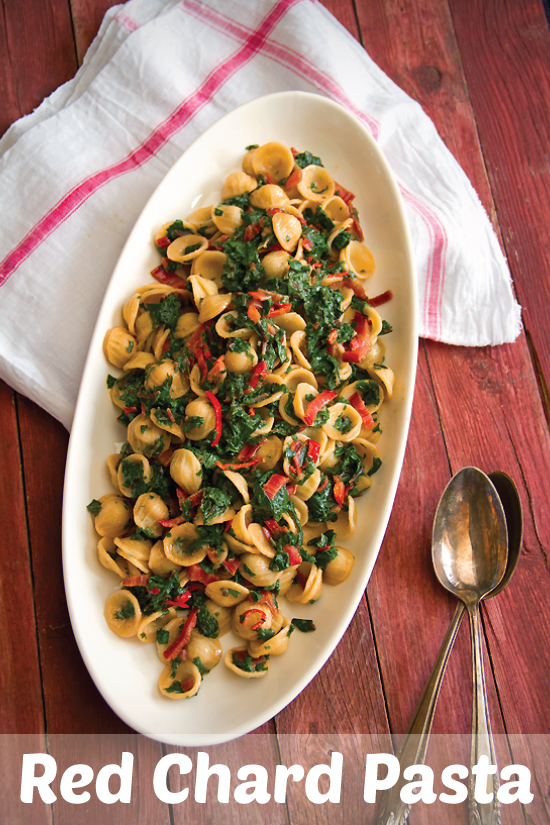 red chard pasta