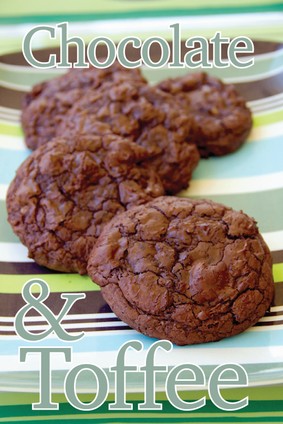 Chocolate and Toffee Cookies